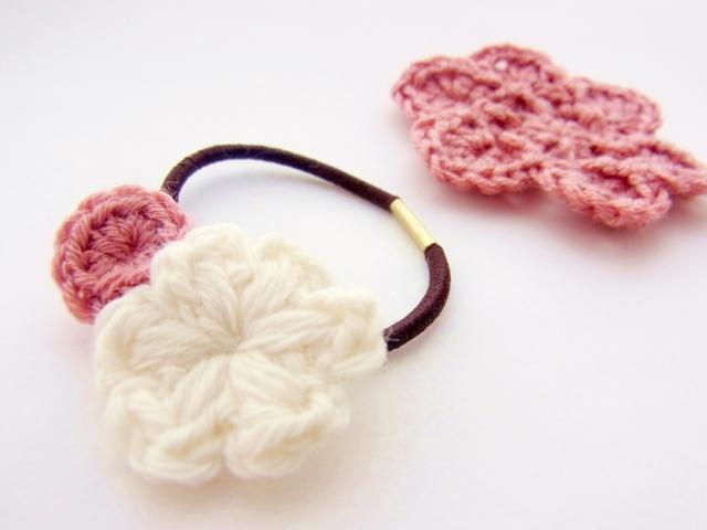 毛糸のアクセサリー