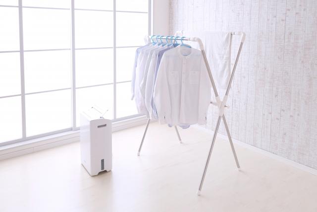 洗濯物の部屋干しのコツ