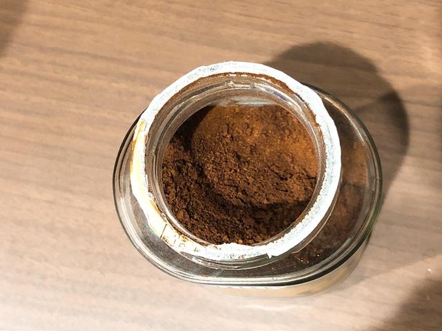 インスタントコーヒーの開け方