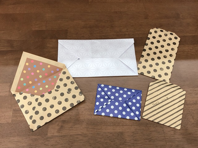 封筒の作り方