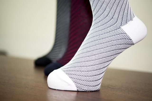 毛玉のできにくい靴下
