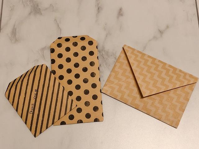 ミニ封筒の作り方