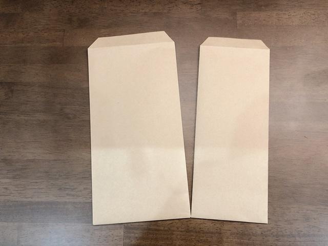 長方形の封筒の作り方